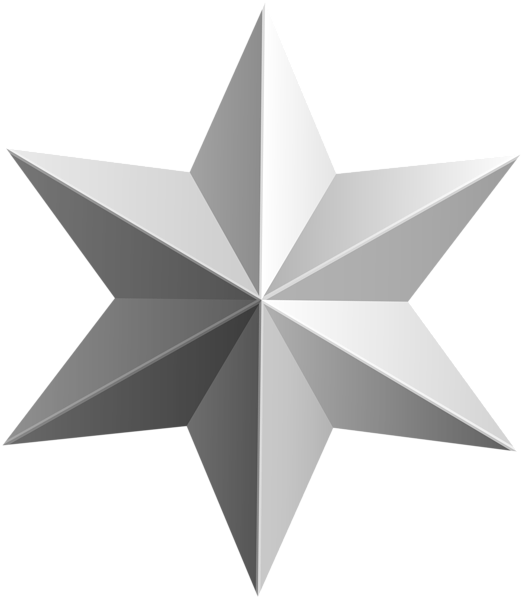 Transparent star clipart image freeuse library Silver Star Transparent PNG Clip Art Image   Gallery Yopriceville ... image freeuse library