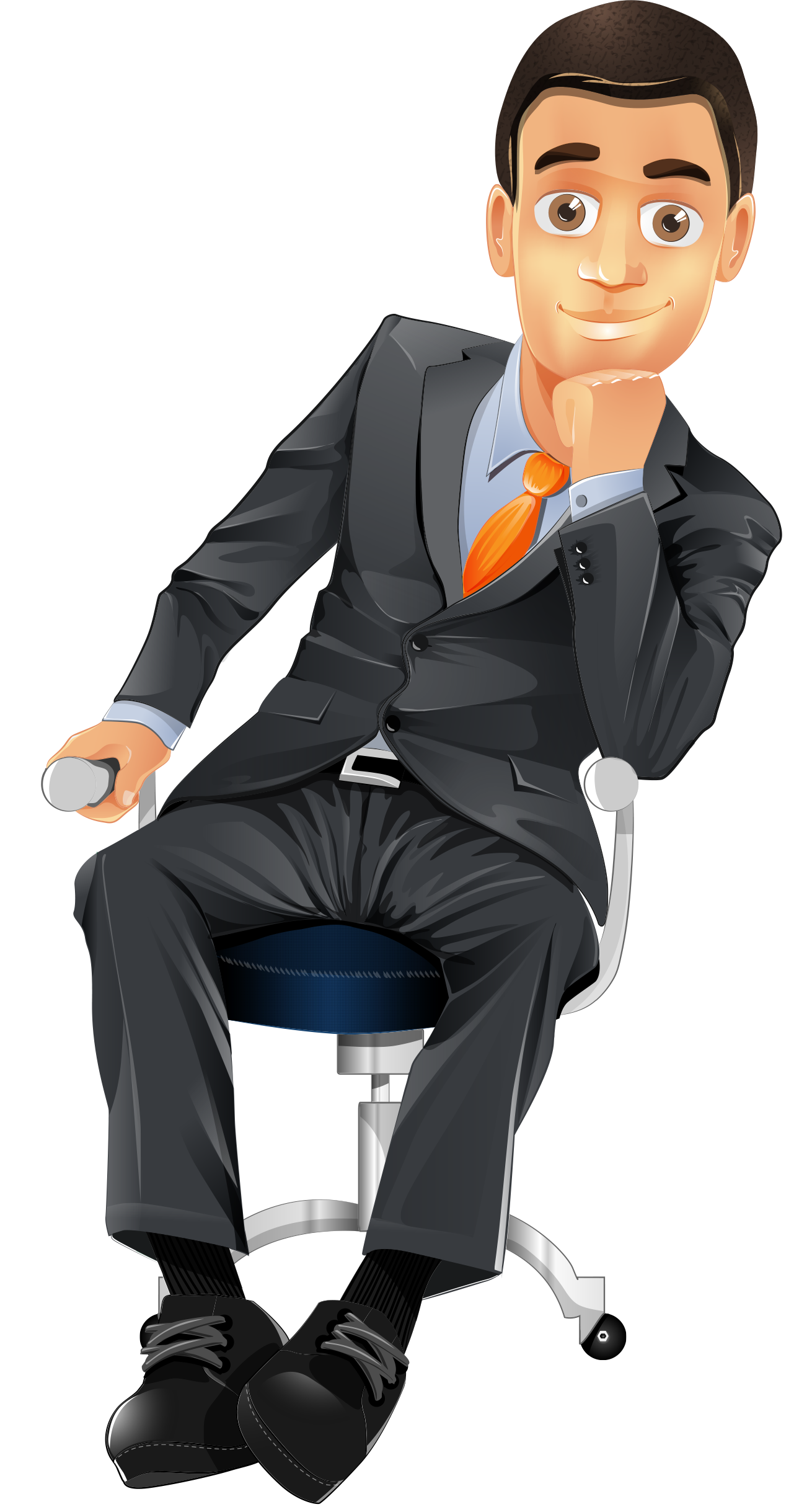 Transparent suit person sitting clipart clipart download Sitting Man PNG Image - PurePNG | Free transparent CC0 PNG ... clipart download