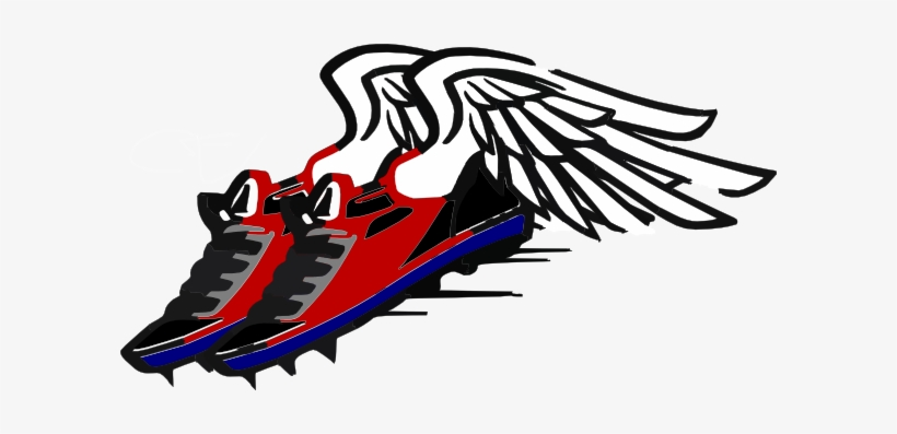 Transparent track and field clipart image library stock Track And Field Shoe Wings Png - Track And Field Clipart Png ... image library stock