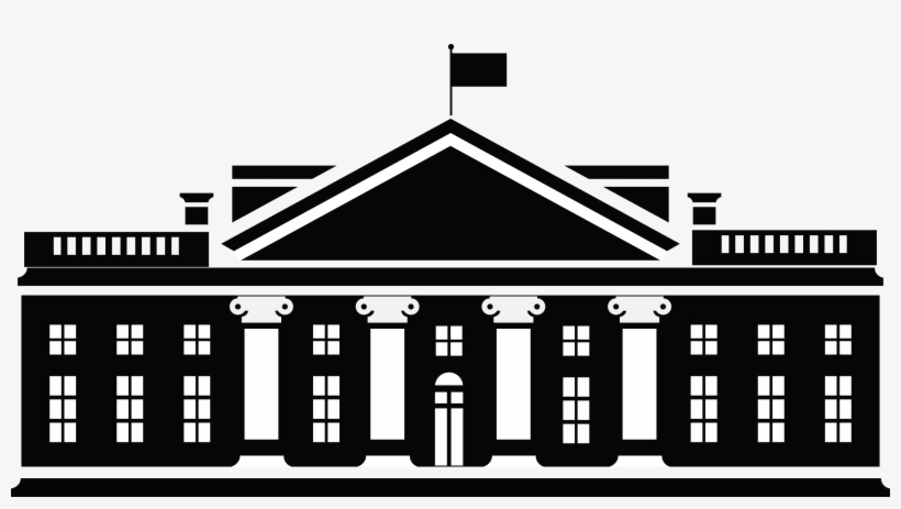 Transparent white house clipart svg royalty free White House Transparent Background - White House No ... svg royalty free