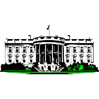 Transparent white house clipart vector library stock Download White House Free PNG photo images and clipart ... vector library stock