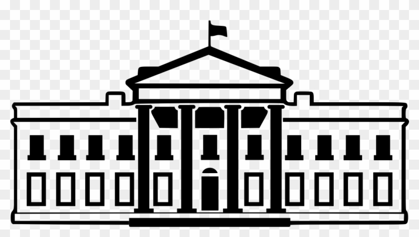 Transparent white house clipart vector library library 28 Collection Of White House Clipart Png - Executive Branch ... vector library library