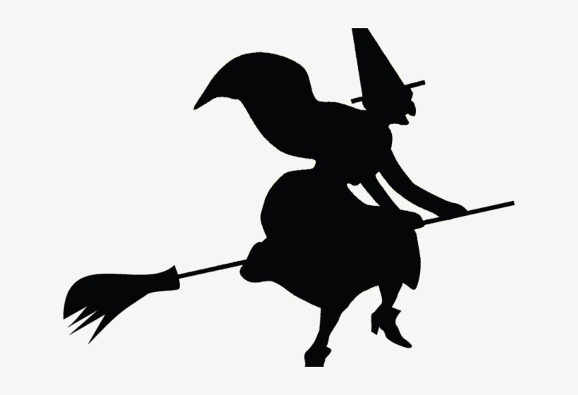 Transparent witch clipart banner library stock Witch Clipart Broomstick - Transparent Halloween Witch ... banner library stock