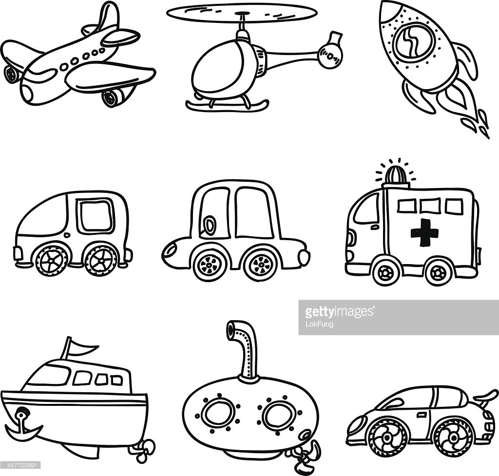 Transport clipart black and white picture library stock Transport Black White Clipart And Ation Collection ... picture library stock