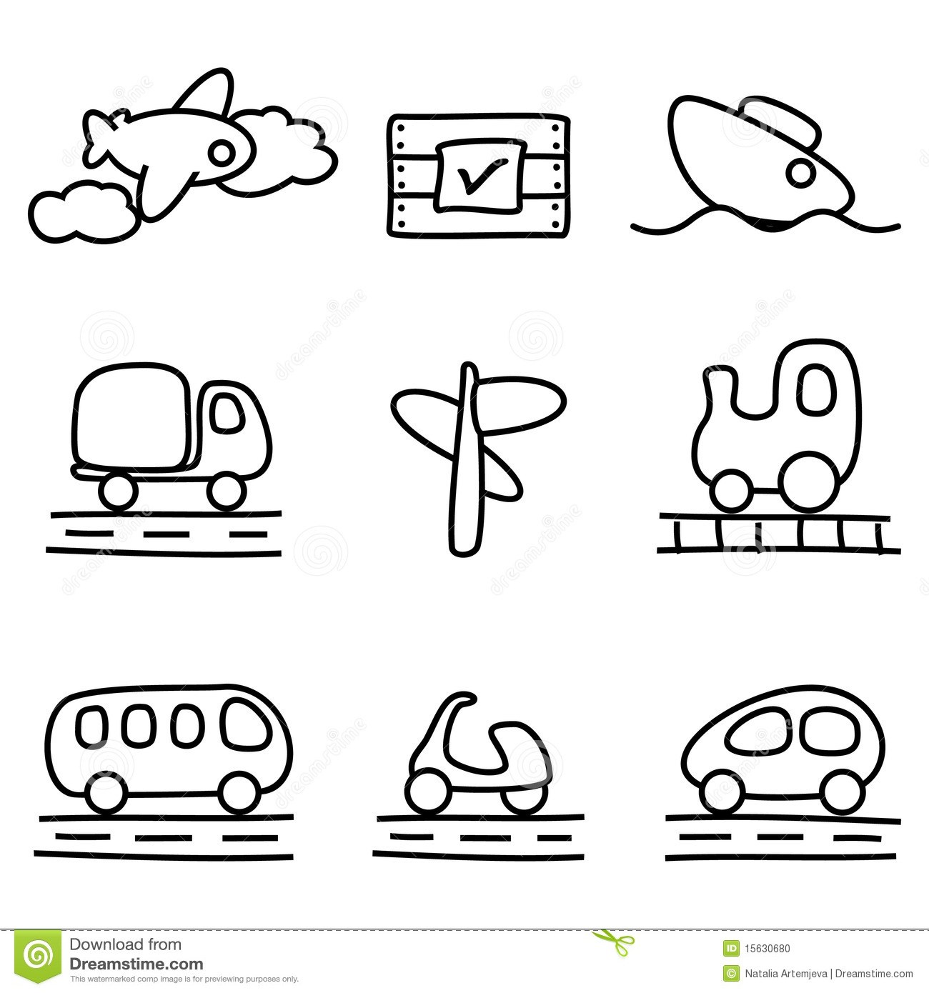 Transport clipart black and white svg library Transport clipart black and white 6 » Clipart Portal svg library