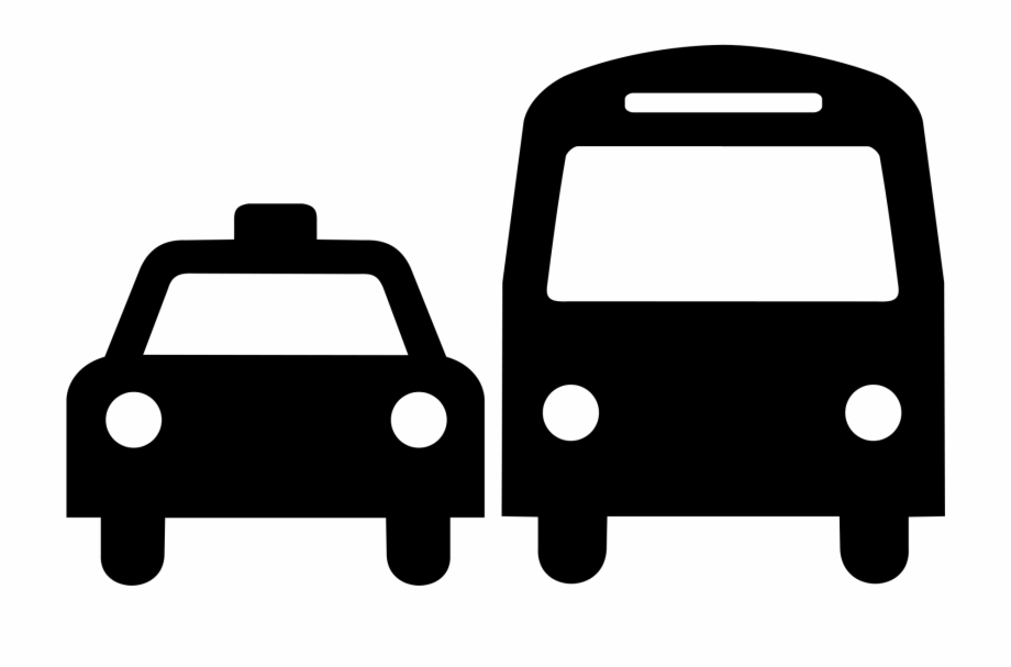 Taxi Clipart Taxi Bus - Ground Transportation Icon Free PNG ... png transparent download