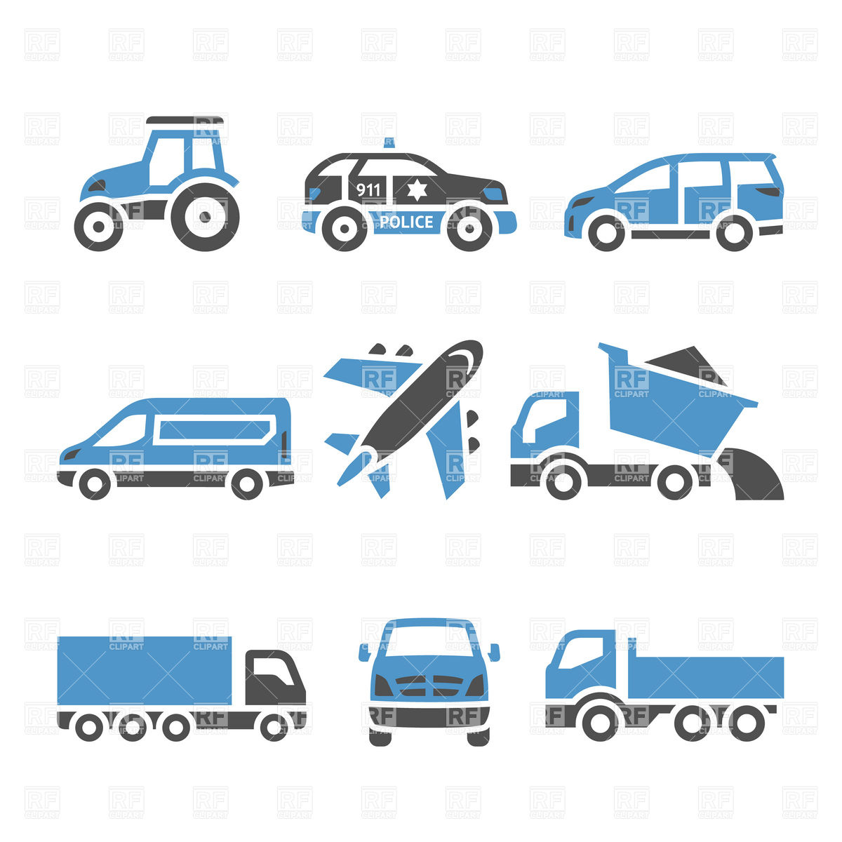 Transportation clipart icon - 70 transparent clip arts ... vector stock