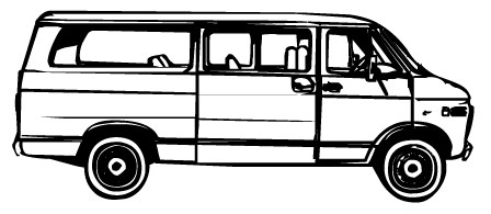 Transportation van clipart picture free stock Transportation Van Clipart - Clip Art Library picture free stock