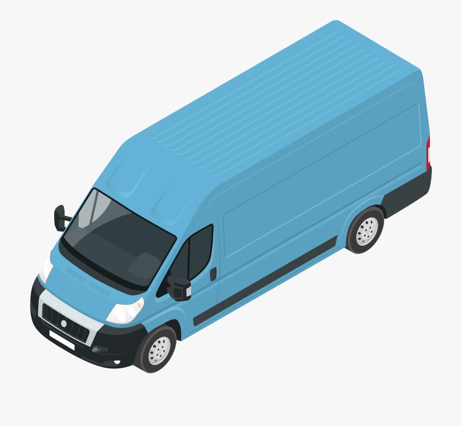 Transportation van clipart vector transparent download Blue Van Png Clip Art #287021 - Free Cliparts on ClipartWiki vector transparent download