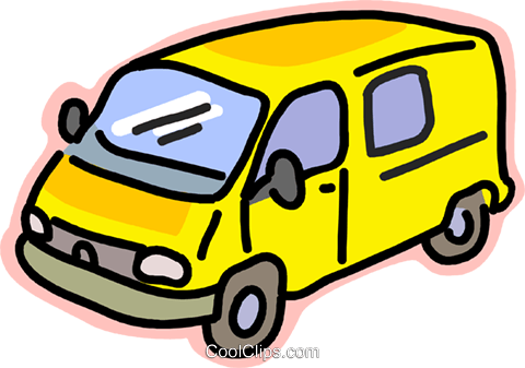 Transportation van clipart picture library download transportation, van Royalty Free Vector Clip Art ... picture library download