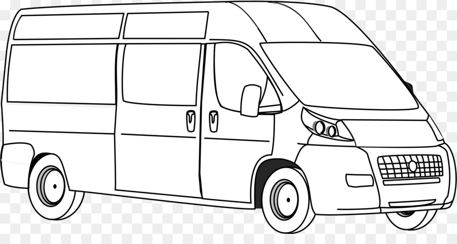 Transportation van clipart graphic royalty free download Book Black And White png download - 2400*1227 - Free ... graphic royalty free download