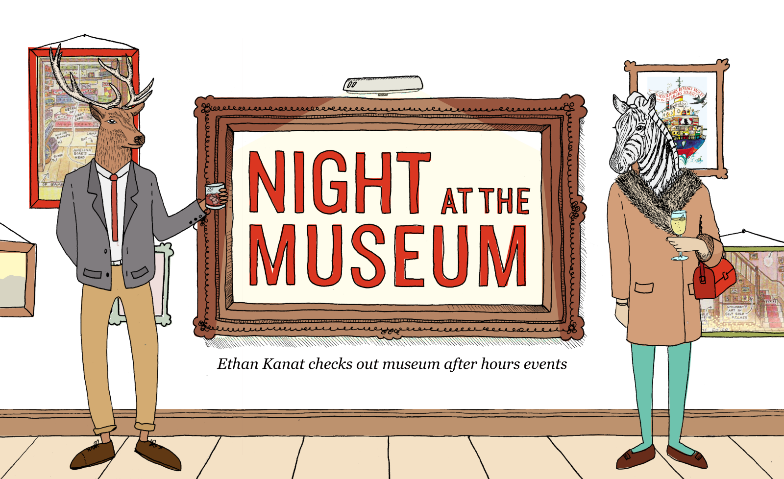 Trap house clipart vector library download Night at the Museum — The Bold Italic — San Francisco vector library download