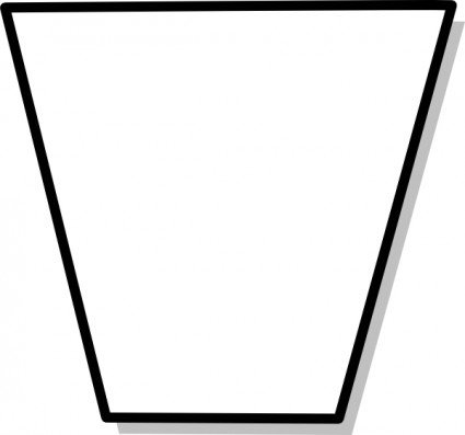 Trapezoid clipart black and white vector transparent download Free Trapezoid Cliparts, Download Free Clip Art, Free Clip ... vector transparent download