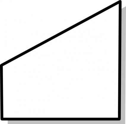 Trapezoid clipart black and white svg freeuse library Free Trapezoid Cliparts, Download Free Clip Art, Free Clip ... svg freeuse library