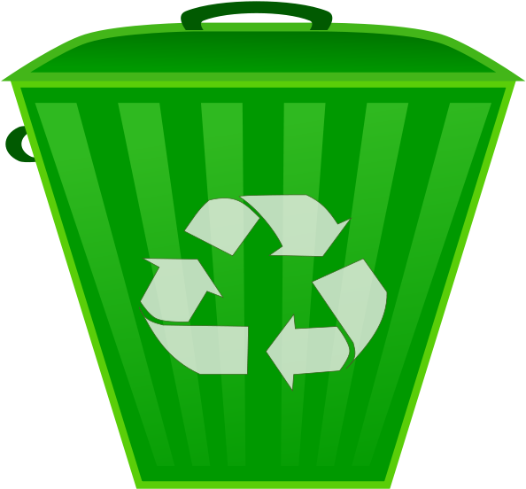 Trash and recyling bin clipart jpg black and white download HD Recycle Bin - Recycle Trash Can Clipart , Free Unlimited ... jpg black and white download