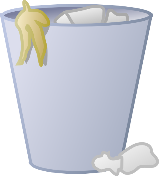 Trash as basketball clipart free library Trashcan Clipart (55+) Desktop Backgrounds library