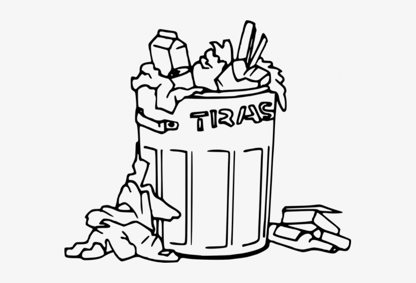 """Trash black and white clipart vector royalty free stock Clinton\'s """"basket Of Deplorables"""" Video For Your Review ... vector royalty free stock"""