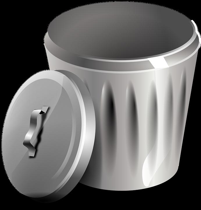Trashcan basketball clipart clip art Free photo Rubbish Waste Metal Bin Can Garbage Trash Basket - Max Pixel clip art