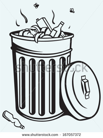 Trash can clipart black and white clipart transparent download Trash can clipart black and white 3 » Clipart Station clipart transparent download