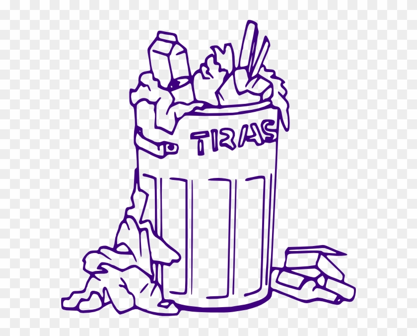 Trash can clipart black and white graphic freeuse library Original Png Clip Art File Rubbish Bin Svg Images ... graphic freeuse library