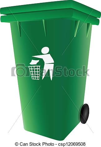 Trash can filled clipart jpg free stock Garbage Can Clipart - Clipart Kid jpg free stock