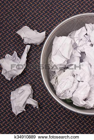 Trash can filled clipart clip art free Stock Photograph of trash can filled with paper k34910889 - Search ... clip art free