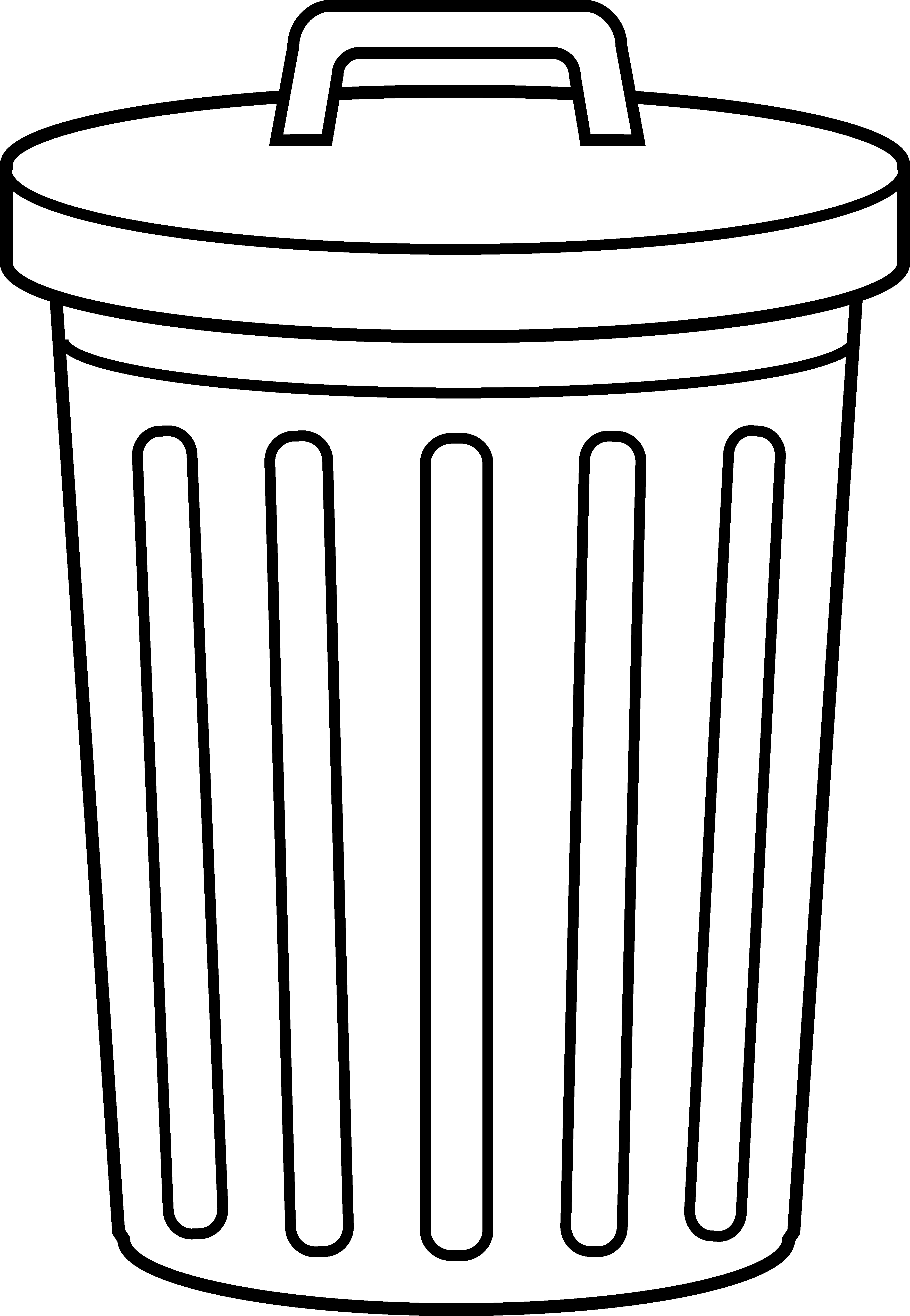 Trash can filled clipart image royalty free Trash can filled clipart - ClipartFest image royalty free