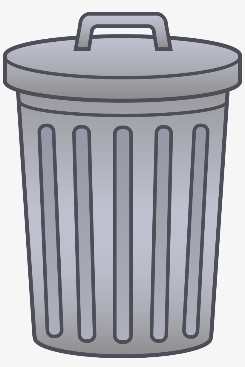 Trash can on wheels clipart jpg black and white Svg Transparent Garbage Can Clipart Letters Format - Trash ... jpg black and white
