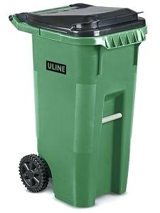 Trash can on wheels clipart png black and white stock green trash can – thenews247.info png black and white stock