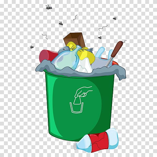 Green garbage bin, Waste container Odor Landfill, A messy ... freeuse