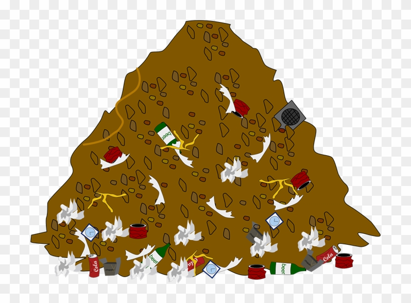 Garbage Pile Clipart , Png Download - Pile Of Trash Clipart ... picture library