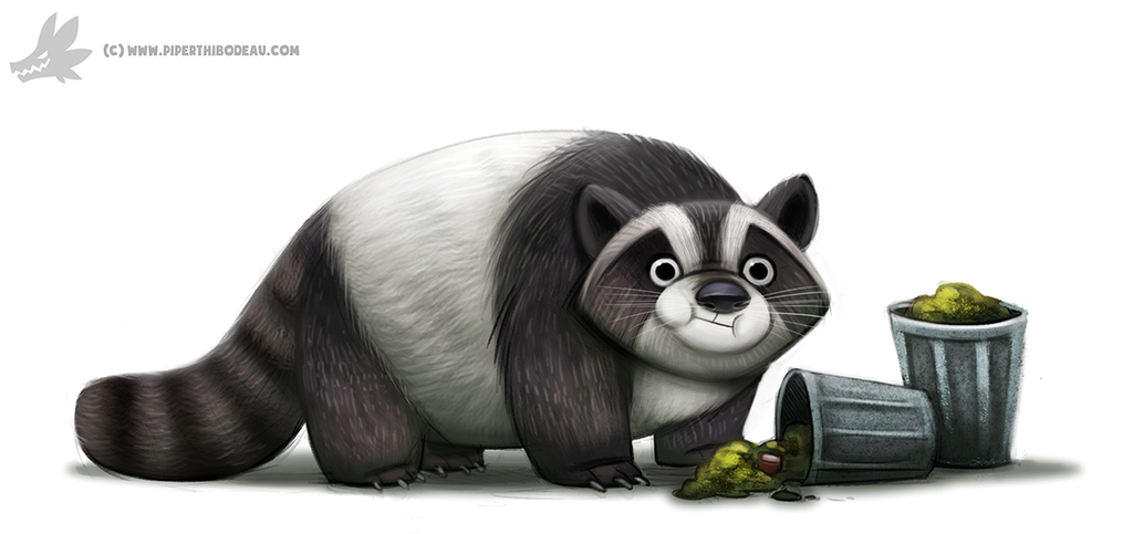 Trash panda graphic black and white Daily Paint #1012. Trash Panda by Cryptid-Creations on DeviantArt graphic black and white