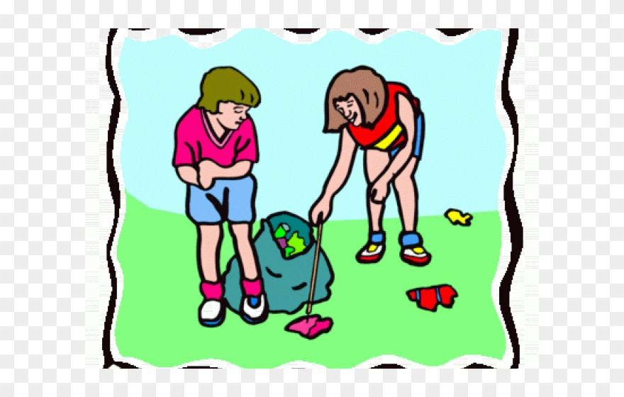 Trash pickers clipart clip free download Customer Clip Art Black - Picking Up Trash Clipart - Png ... clip free download