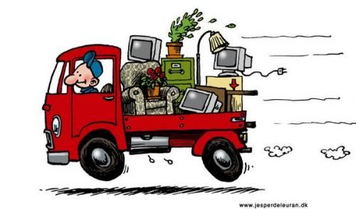 Trash removal clipart graphic royalty free download old truck hauling junk clipart - Yahoo Image Search Results ... graphic royalty free download