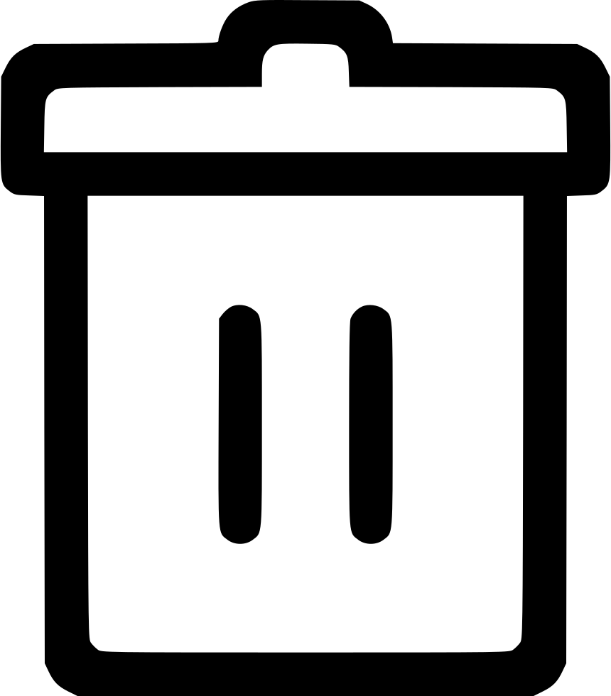 Trashcan basketball clipart image black and white stock Trashcan Svg Png Icon Free Download (#543902) - OnlineWebFonts.COM image black and white stock