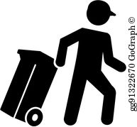 Trashman clipart clip royalty free download Garbage Man Clip Art - Royalty Free - GoGraph clip royalty free download