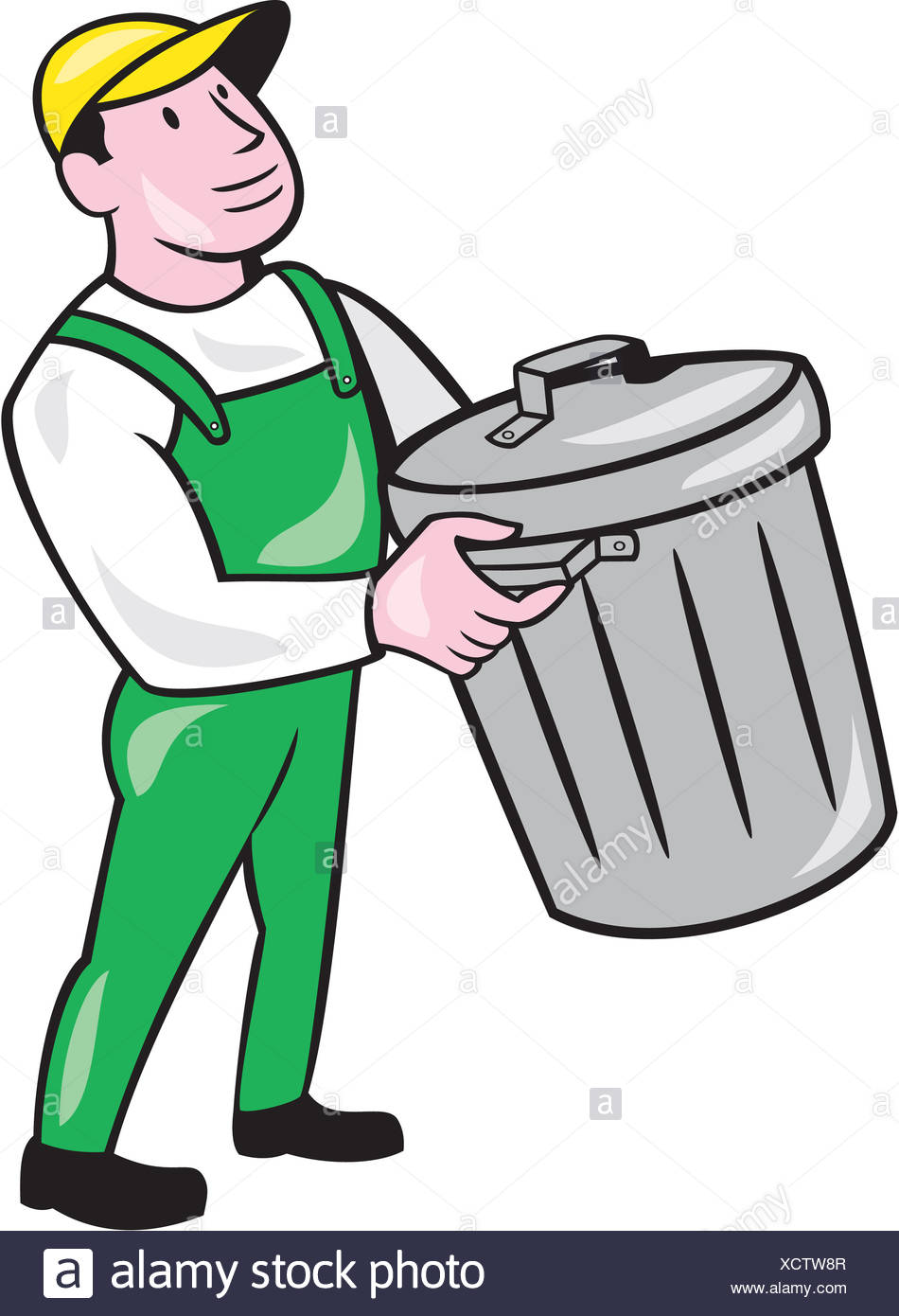 Trashman clipart image black and white download Garbage Man Clipart (106+ images in Collection) Page 2 image black and white download