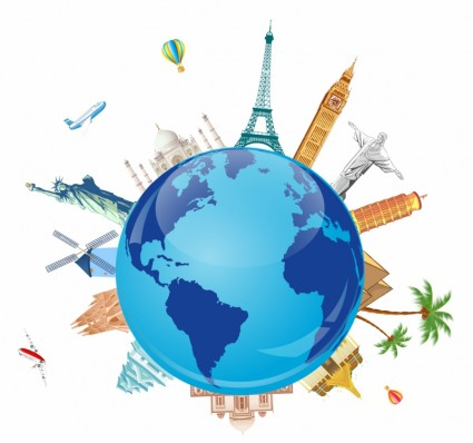 Travel around the world clipart picture Free Earth Traveling Cliparts, Download Free Clip Art, Free ... picture