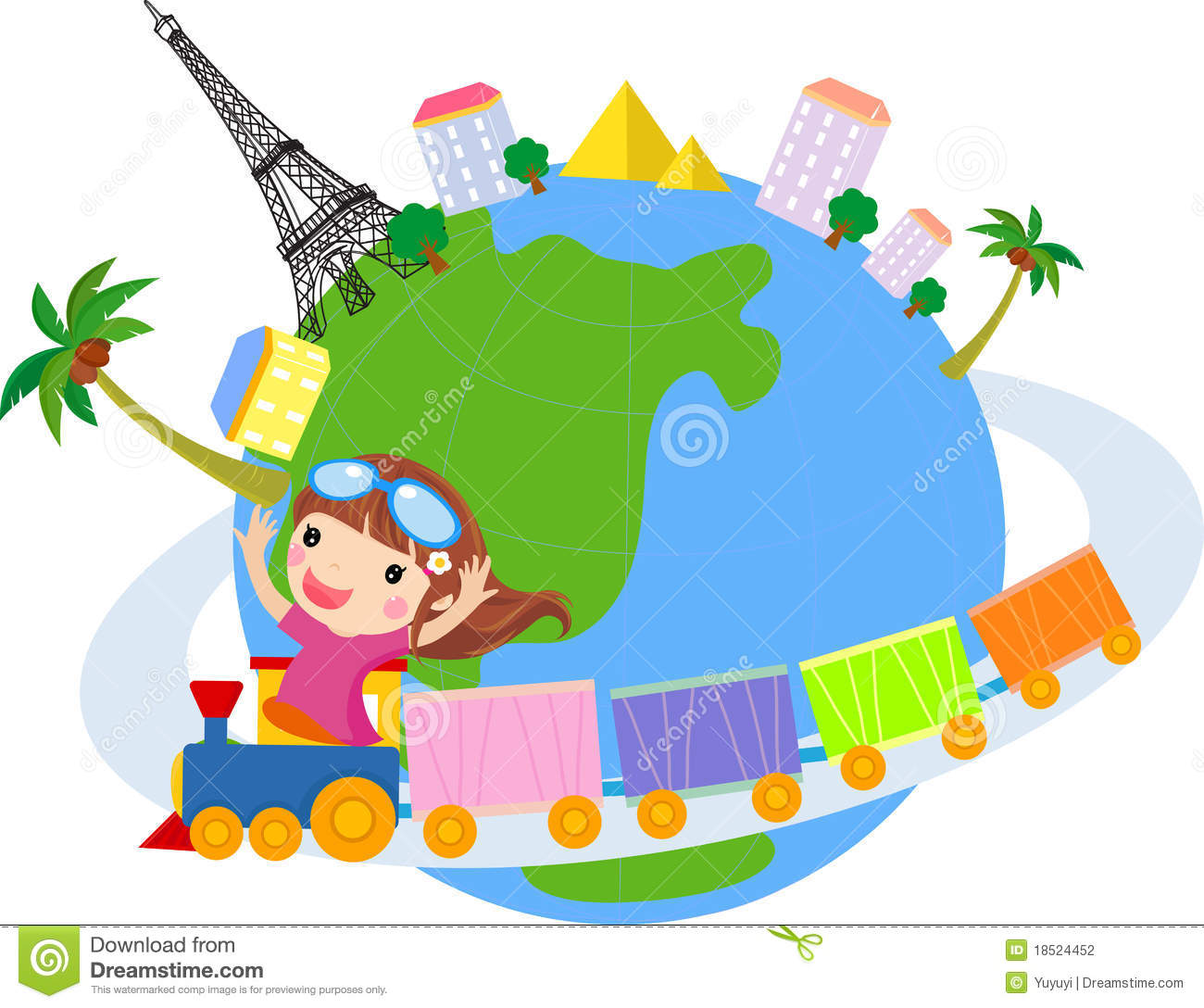 Travel around the world clipart graphic freeuse library 49+ Around The World Clipart | ClipartLook graphic freeuse library