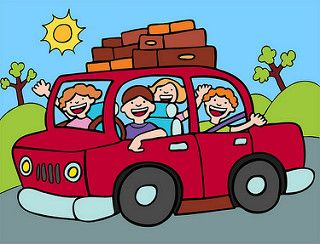 Travel car clipart clip family with kids driving in car clipart | Best Travel Games ... clip