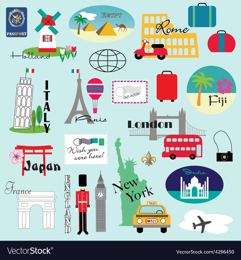 Travel clipart images vector royalty free library Travel clipart vector royalty free library