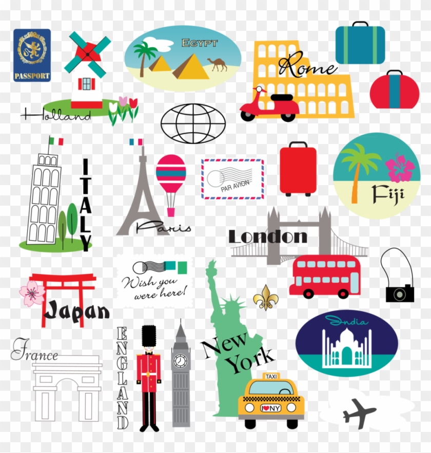 World Travel Travel Clipart , Png Download - Travel Cliparts ... png library