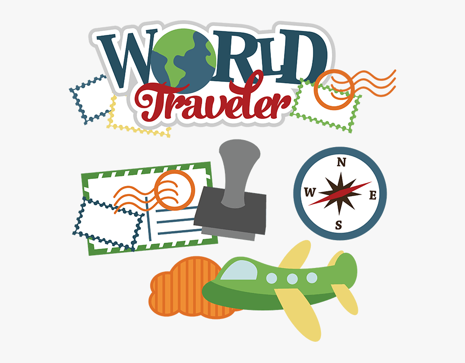 Cute Travel Clipart Free - World Traveler Clip Art #176136 ... png free stock