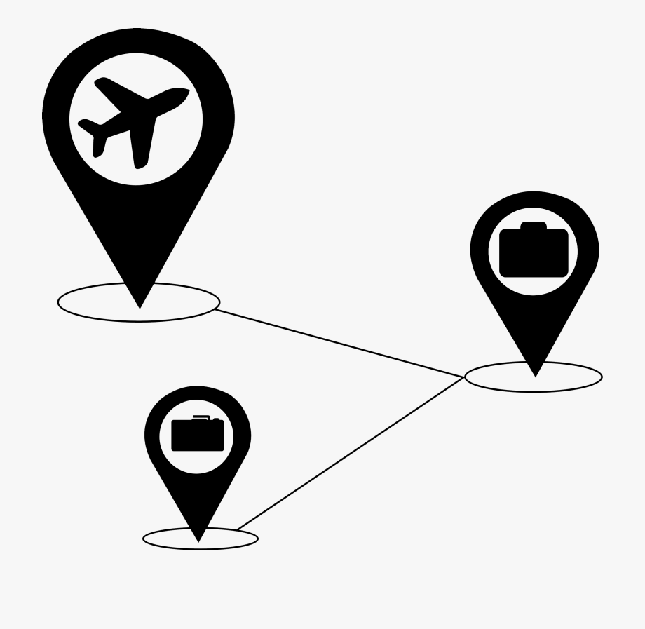 Traveling clipart black and white image freeuse Traveling Clipart Black And White - Clipart Travel Black And ... image freeuse