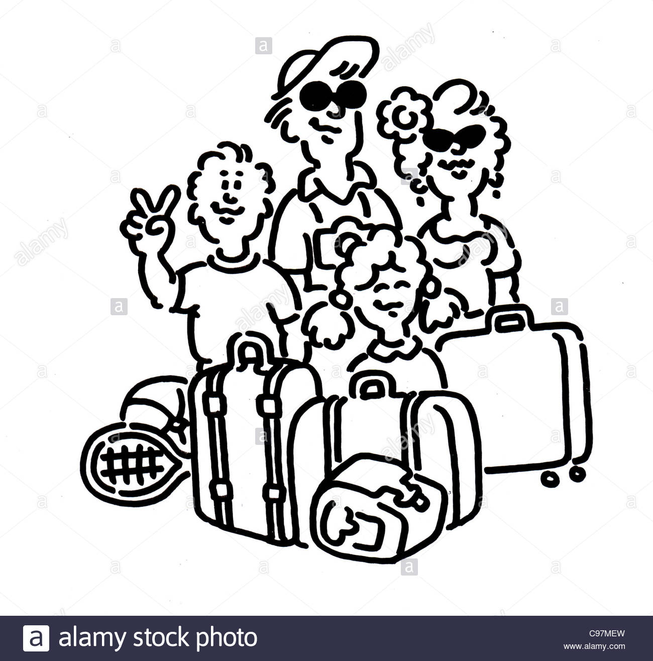 Traveling clipart black and white clipart library stock Travel Clipart Black And White (97+ images in Collection) Page 1 clipart library stock
