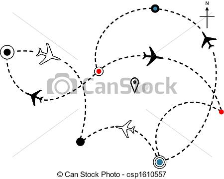 Traveling plane destination clipart jpg library download Plane Clipart Vector and Illustration. 40,332 Plane clip art ... jpg library download