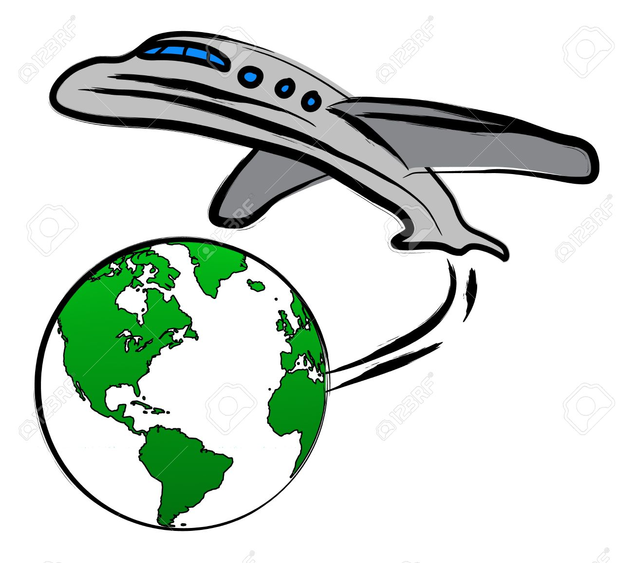 Traveling plane destination clipart svg black and white Traveling plane destination clipart - ClipartFest svg black and white