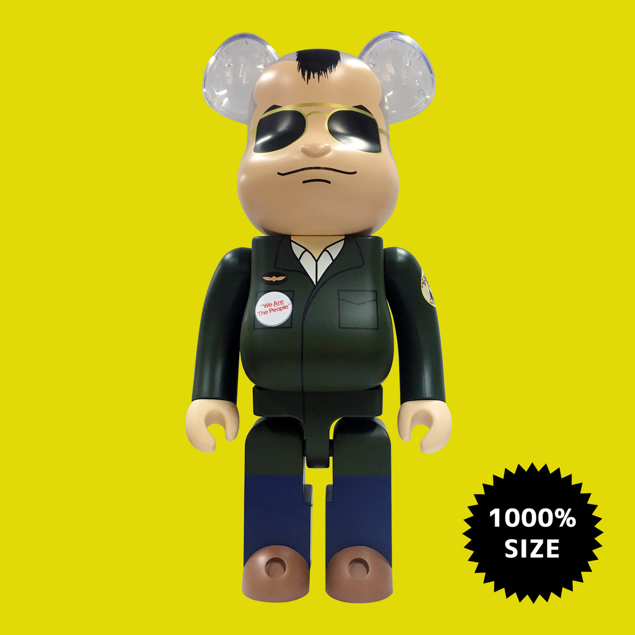 Travis bickle clipart image black and white library Medicom Toy: Bearbrick - Taxi Driver Travis Bickle 1000% image black and white library