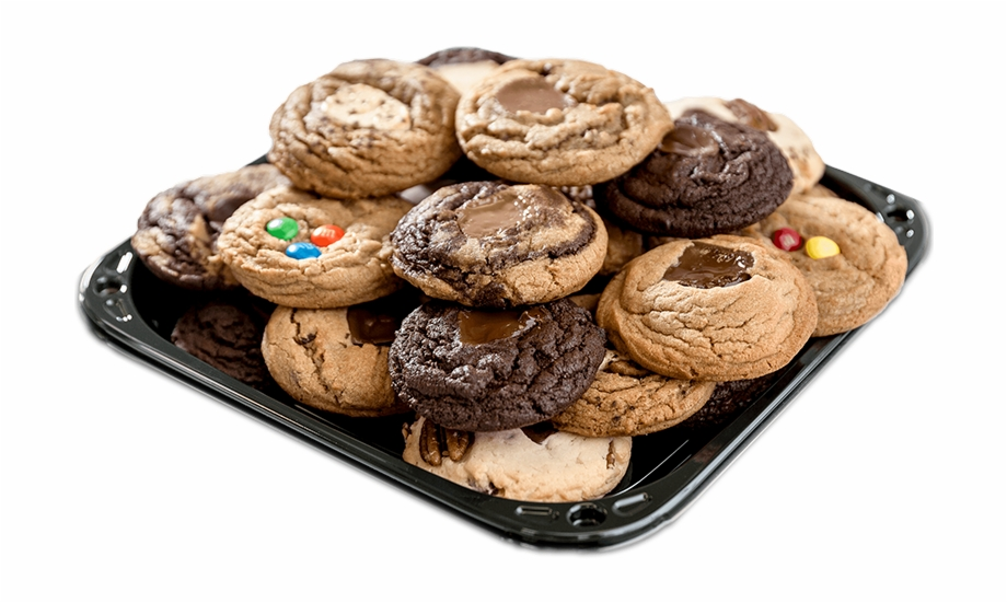 Tray of cookies clipart clipart black and white download Cookie Tray - Calgary Cookies By George Free PNG Images ... clipart black and white download