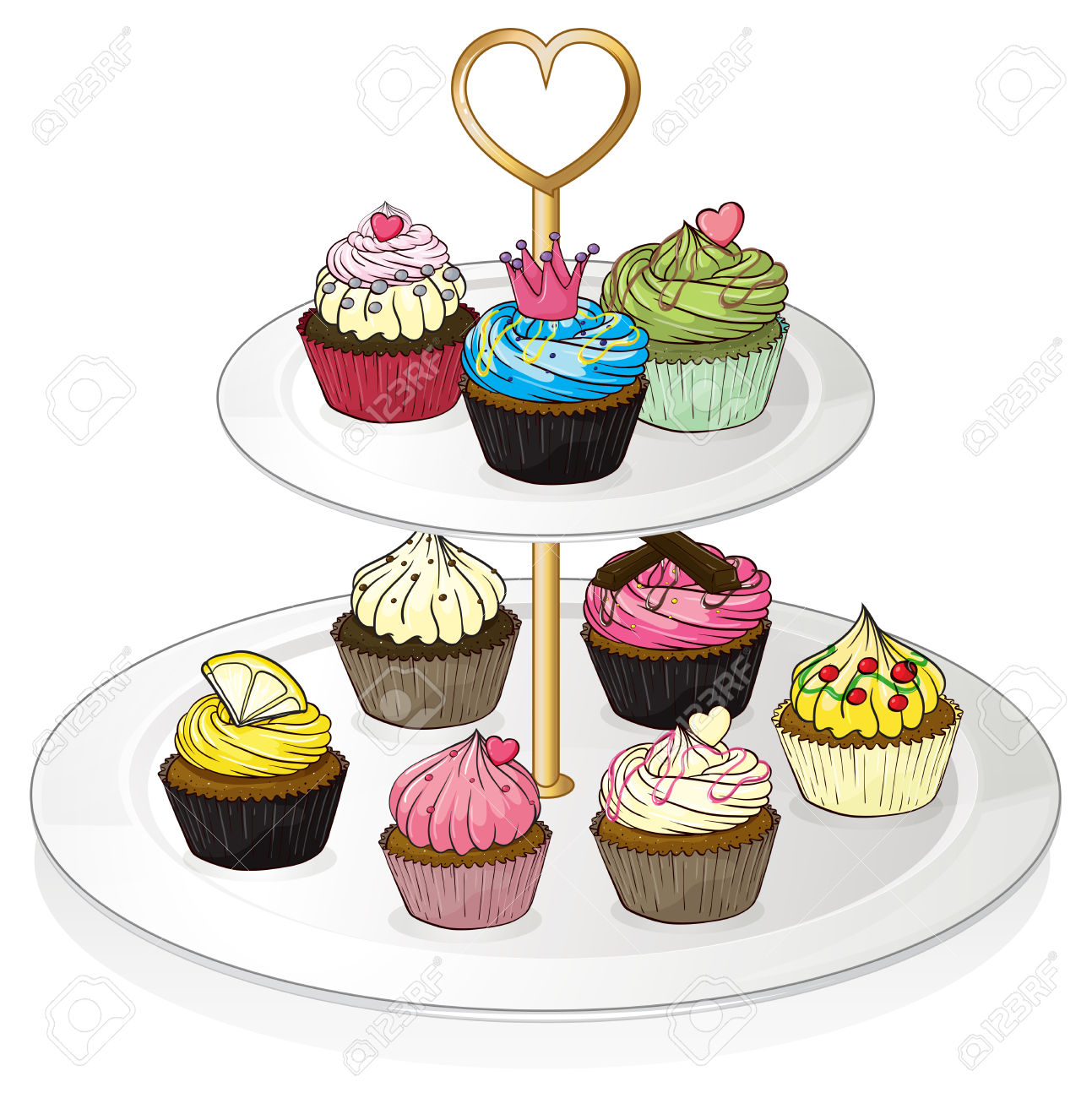Tray of pastrie clipart banner free download Desserts Cliparts   Free download best Desserts Cliparts on ... banner free download